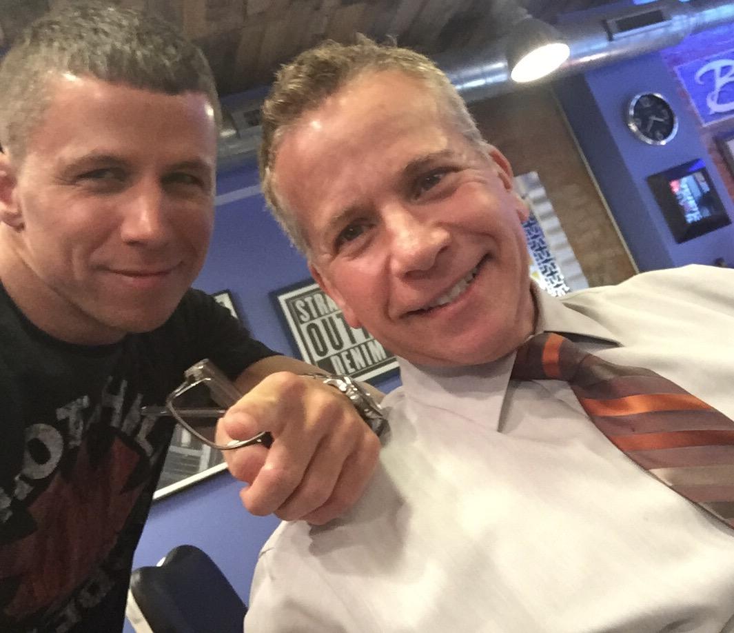One of Barbershop Denims regulars Jimmy