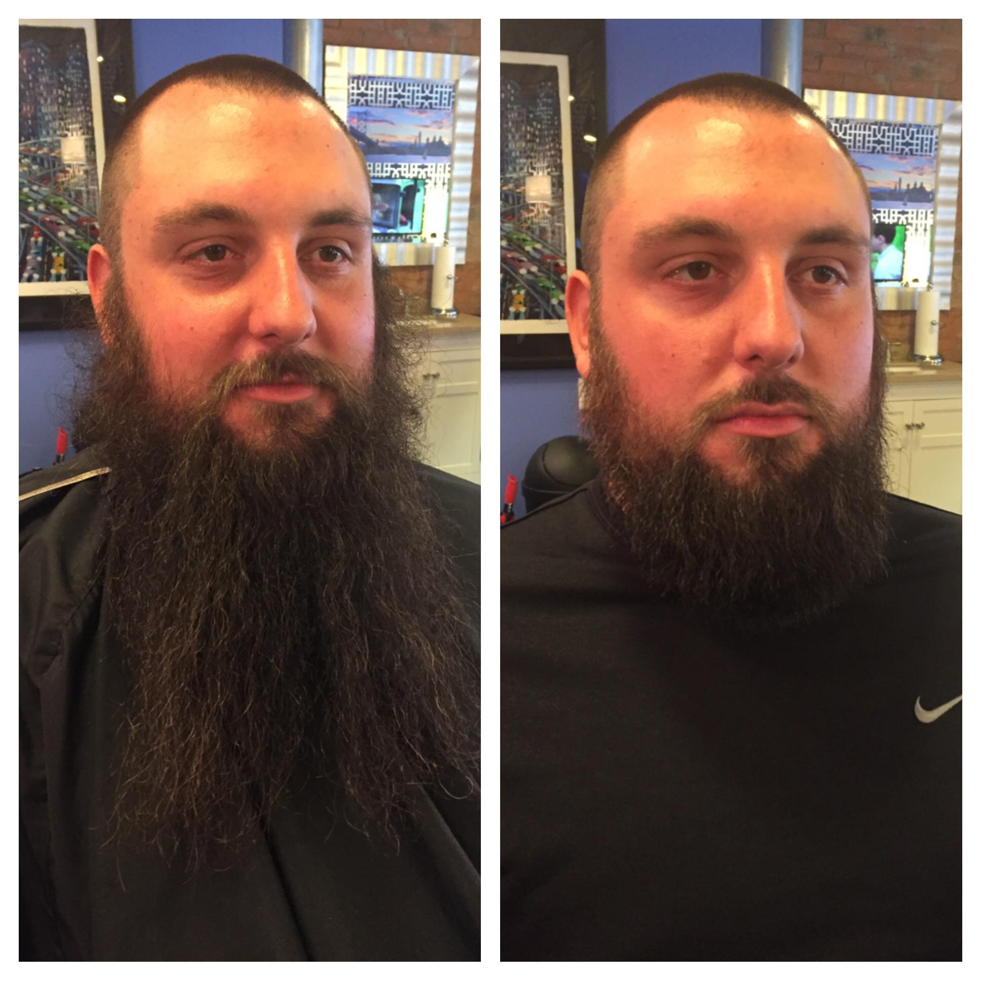 Beard Chop Work done by Chris