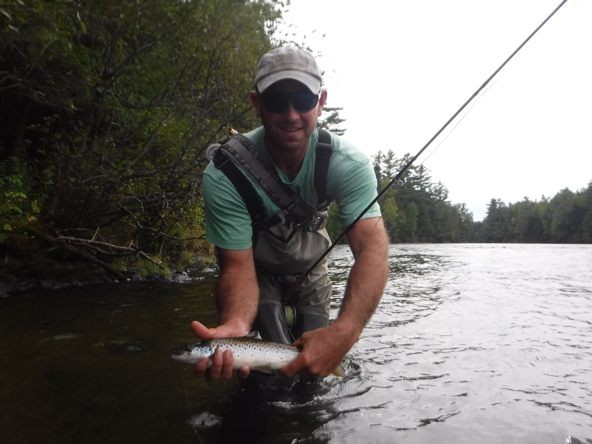 Meet Ben Nyce Registered Maine Guide - Maine Bass Fishing
