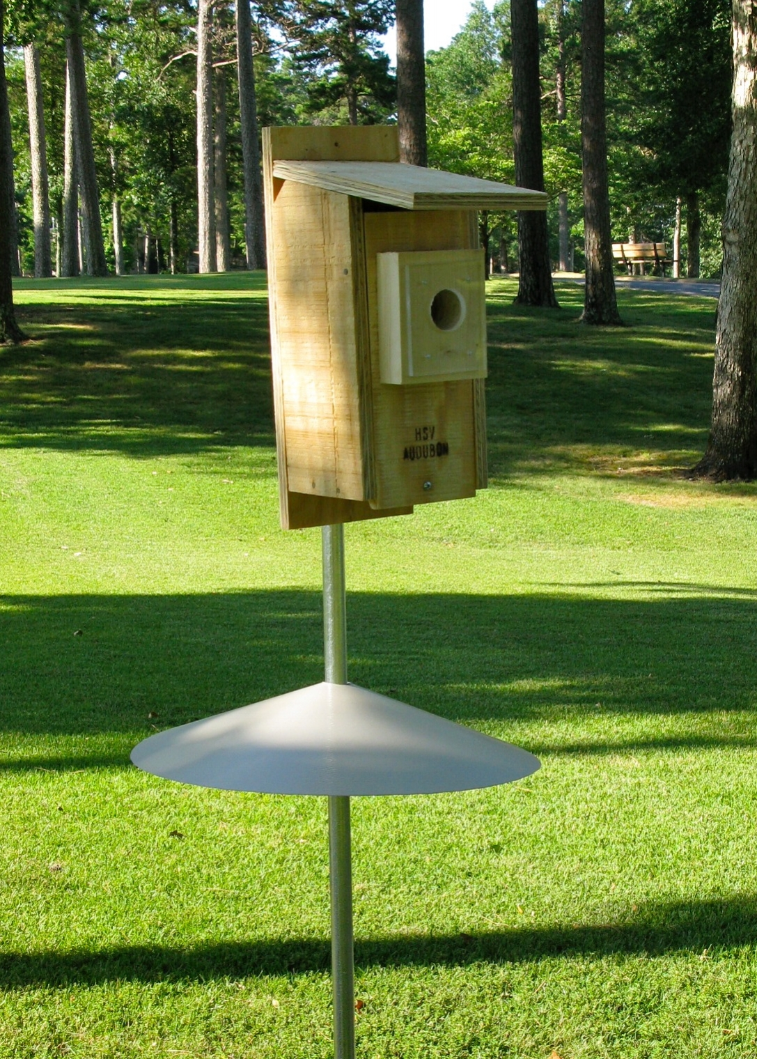 Bluebird nest boxes available from our  store.