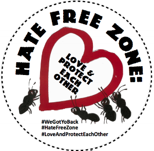 The Hate Free Zone campaign is building a community defense system that will allow us to defend our communities from workplace raids, deportations, mass criminalization, violence, and systemic violation of our rights and dignity.