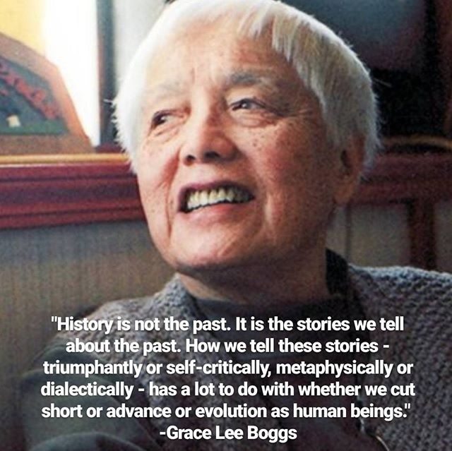 #liberationmedia #graceleeboggs #movementhistories