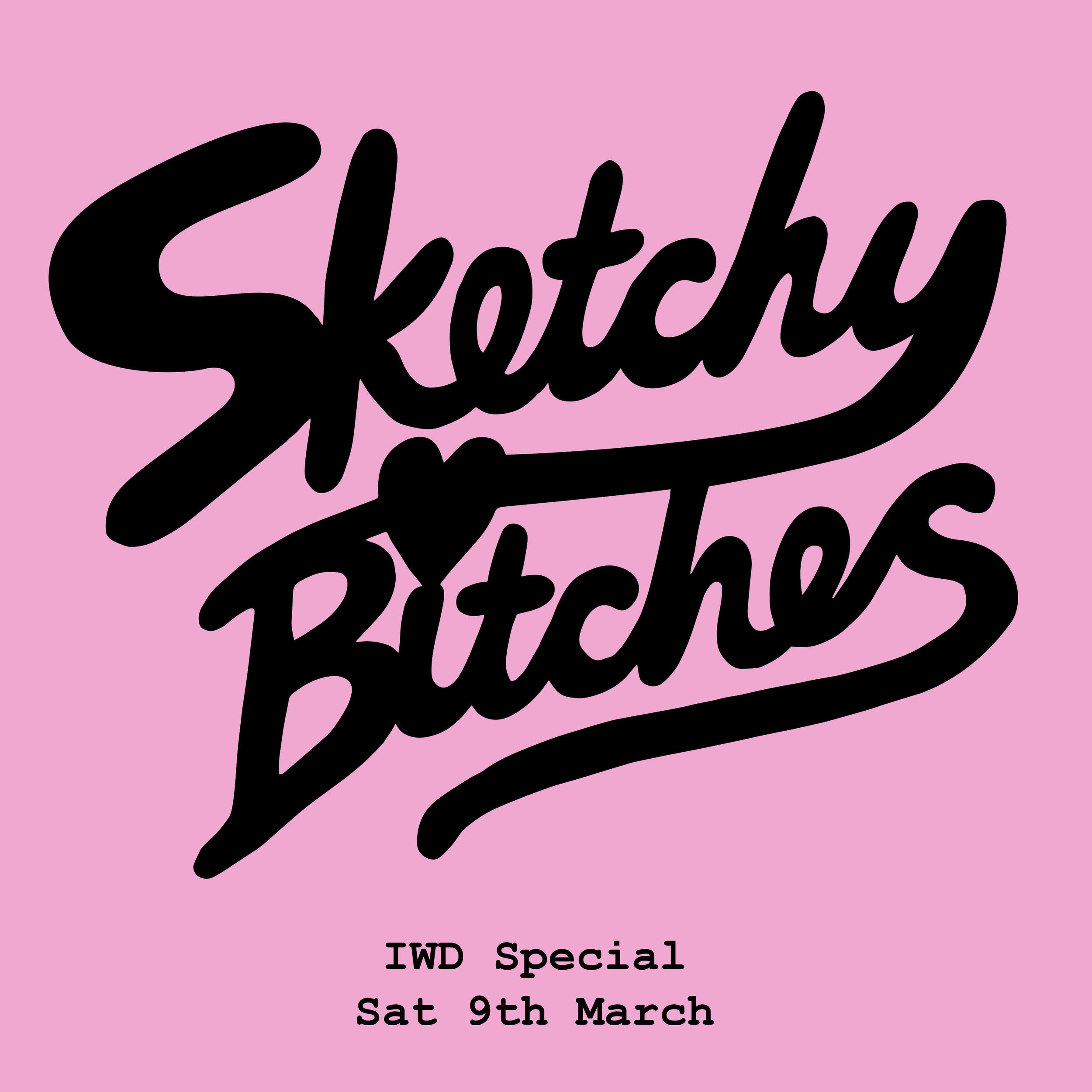 Sketchy Bitches IWD launch.jpg