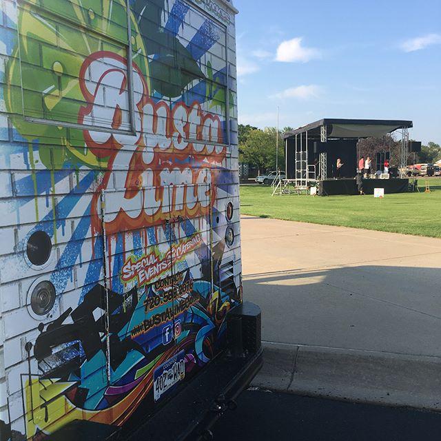 Ridge 38 Music & Movie in the Park. Free event with Food Trucks! #ridge38 #foodtruck #empanadas #limeade #lemonade #cookies #movieinthepark #starwars #fridaynightlive #localworks