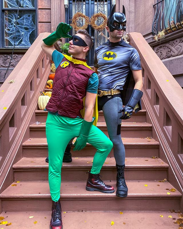 Meanwhile, back at the Bat Cave.... . . . . . #halloween #halloweencostume #gay #gayboy #instagood #instagay #fitness #fitfam #sexy #swag #love #couple #gaycouple #funny #amazing #super #batman #cosplay #nyc #newyork #newyorkcity #picoftheday #pride #beautiful #style #all_shots #cute #photooftheday #boy #celebrate