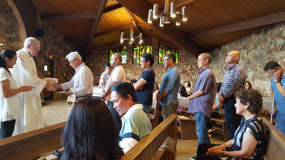 Mass & Filipino Family Gathering