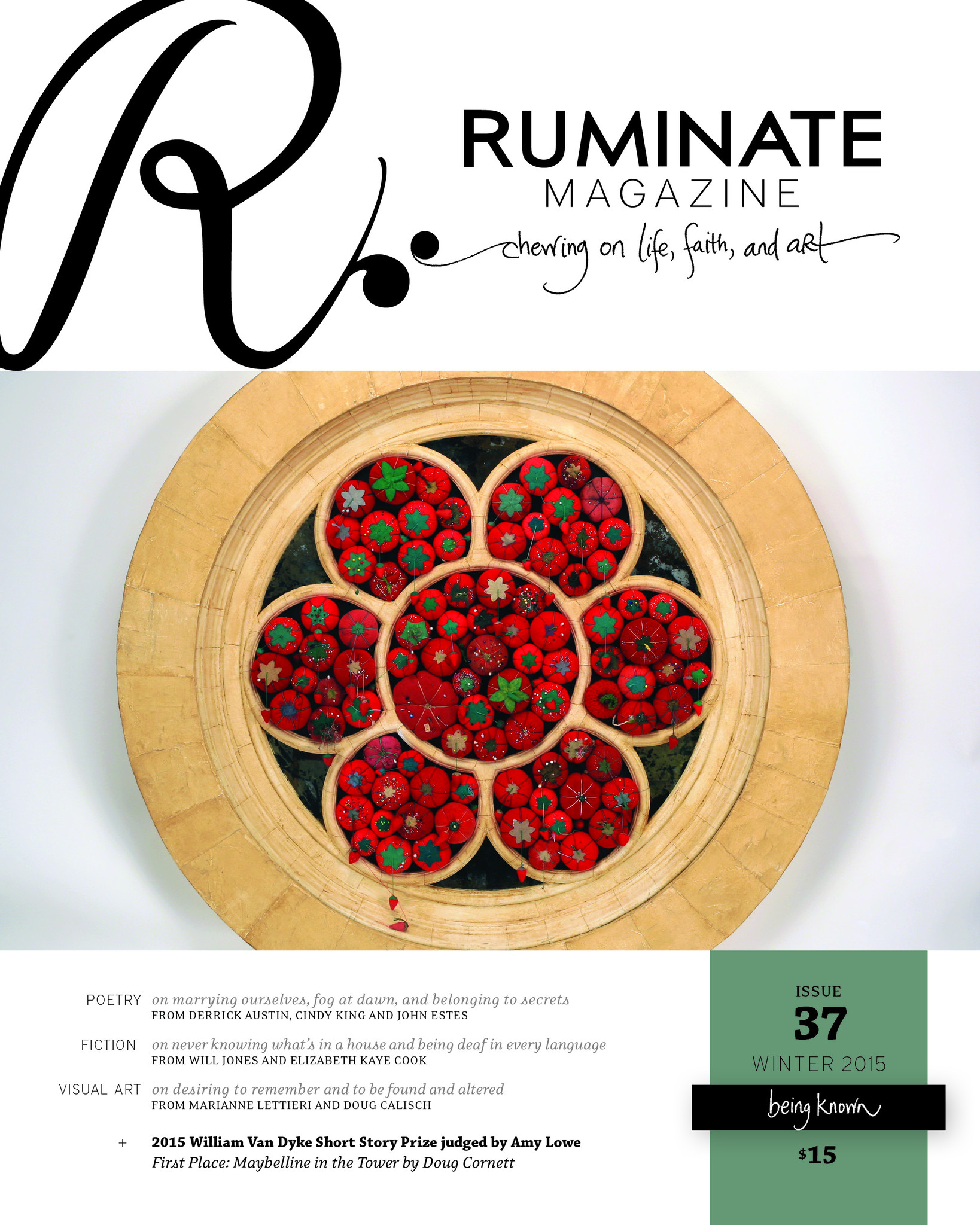 Ruminate Magazine, Issue 37: Being Known