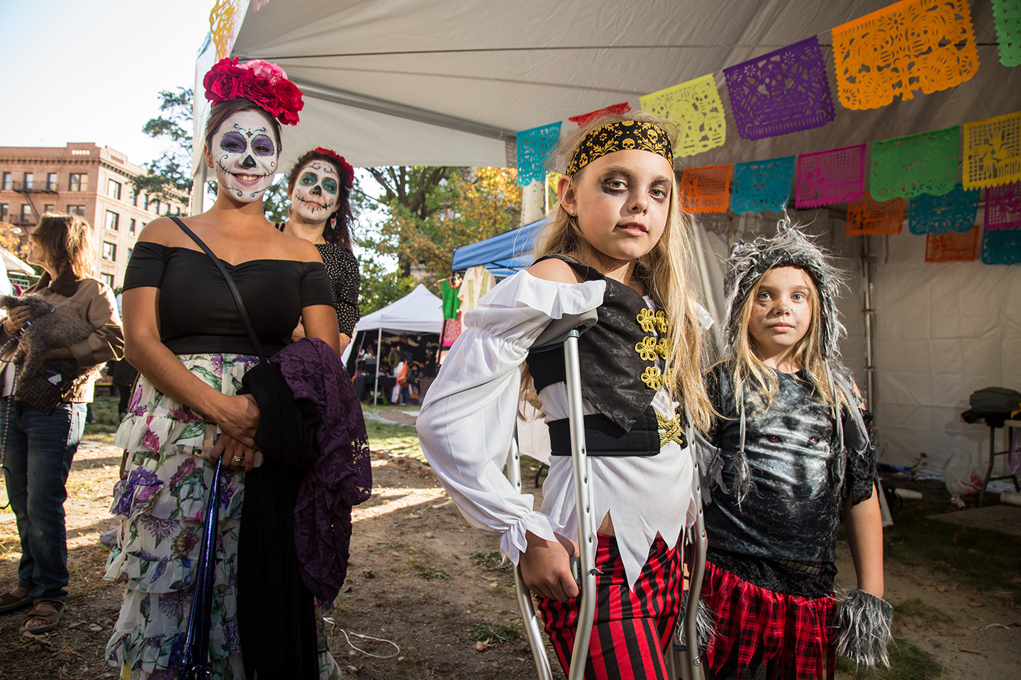 """Vice   """"NYC Day of the Dead Gathering Celebrates life, in Photos"""""""