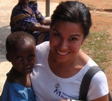 Visit to  International Medical Corps  Settlement Camps on the DRC/Uganda Border 2009