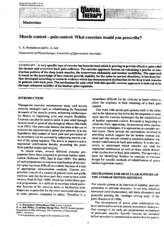 Richardson Jull Article 1993.JPG