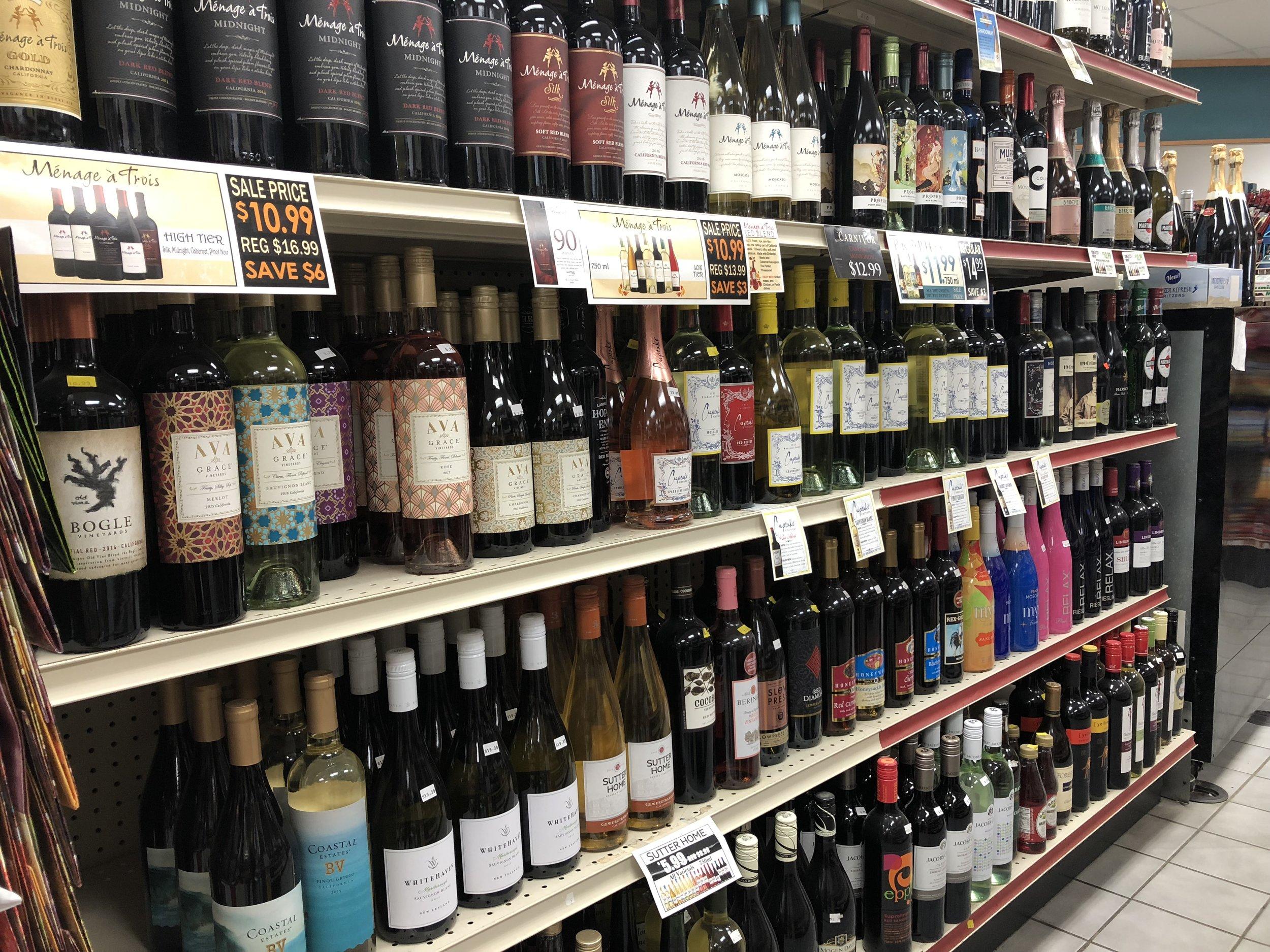 Beer & Liquor — Bad Axe Party Store