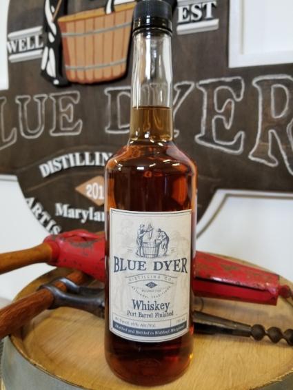 Port Barrel Finished Whiskey - BlueDyer Distilling Co.
