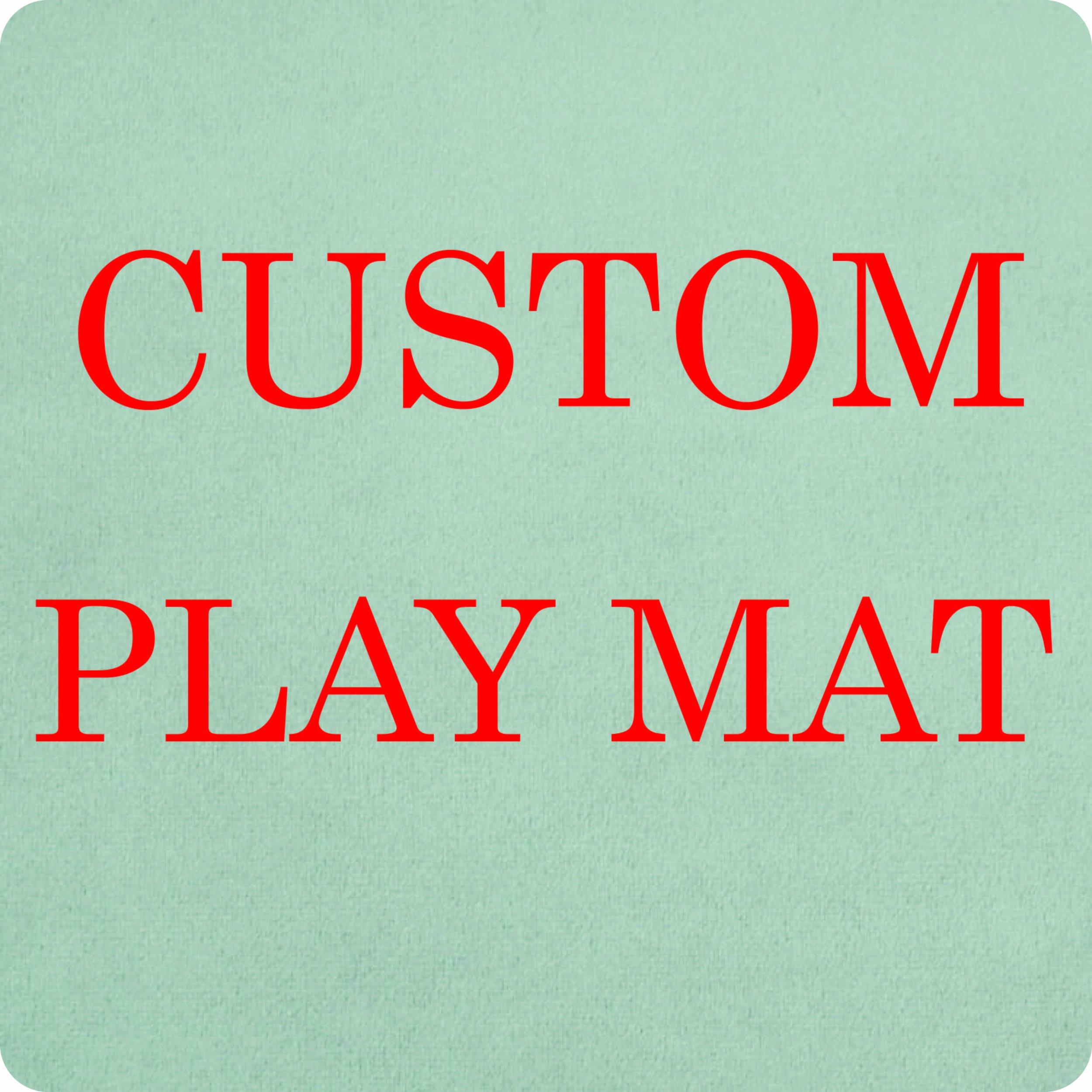CUSTOM PLAY MAT -
