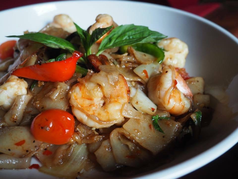 Shrimp Drunken Noodle