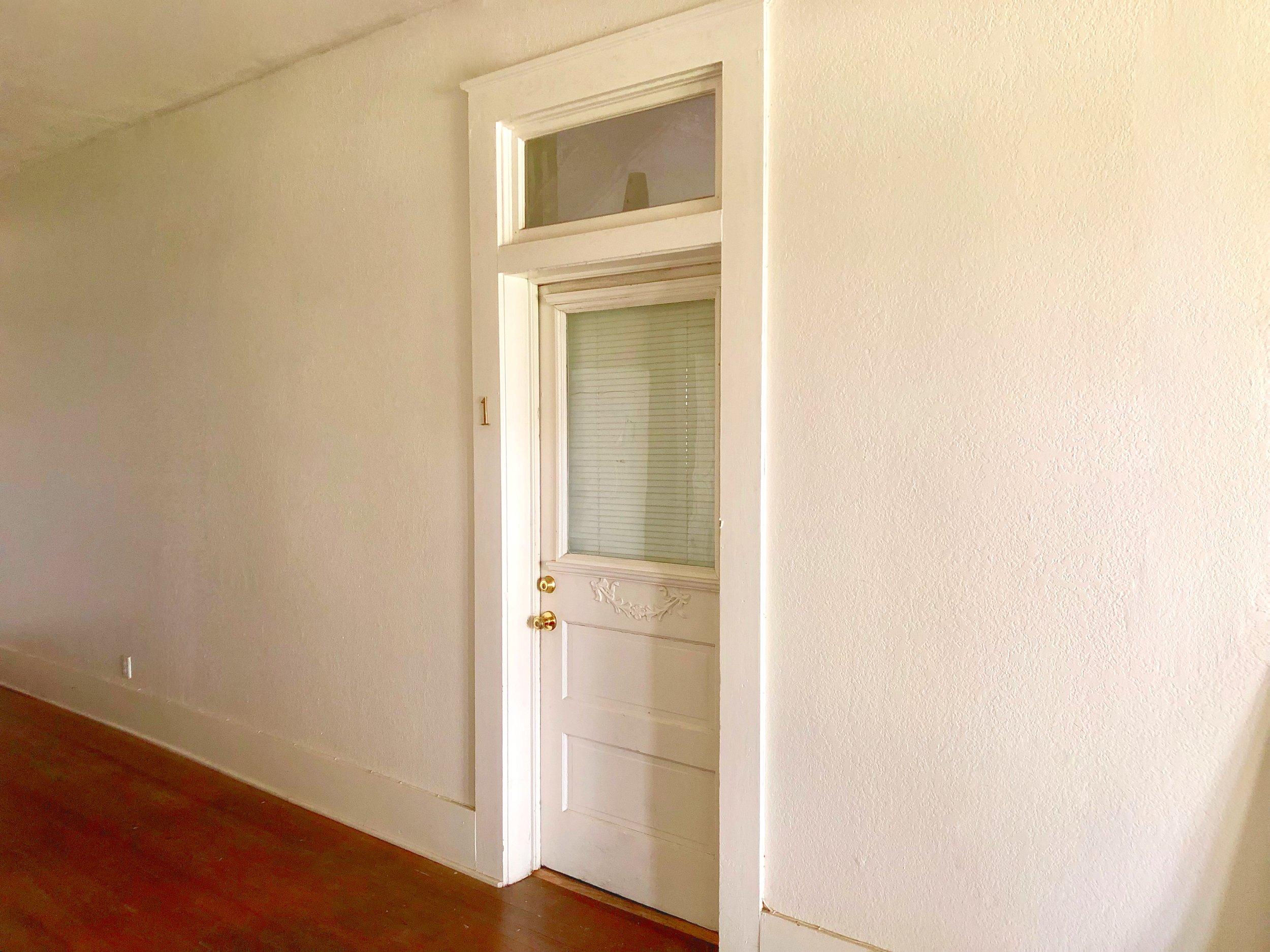 Apt #1 - Inside front door entrance