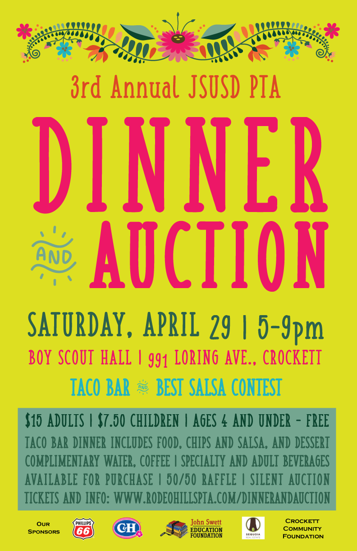 3rd Annual PTA Dinner & Auction