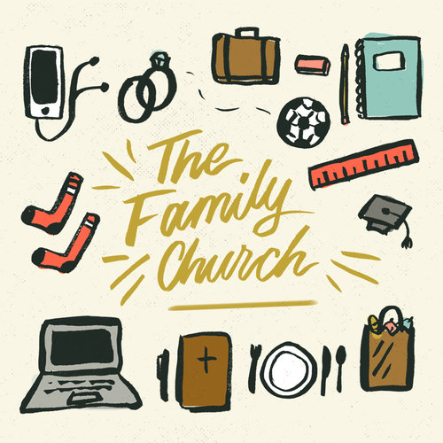The Family Church Sermon Series Art