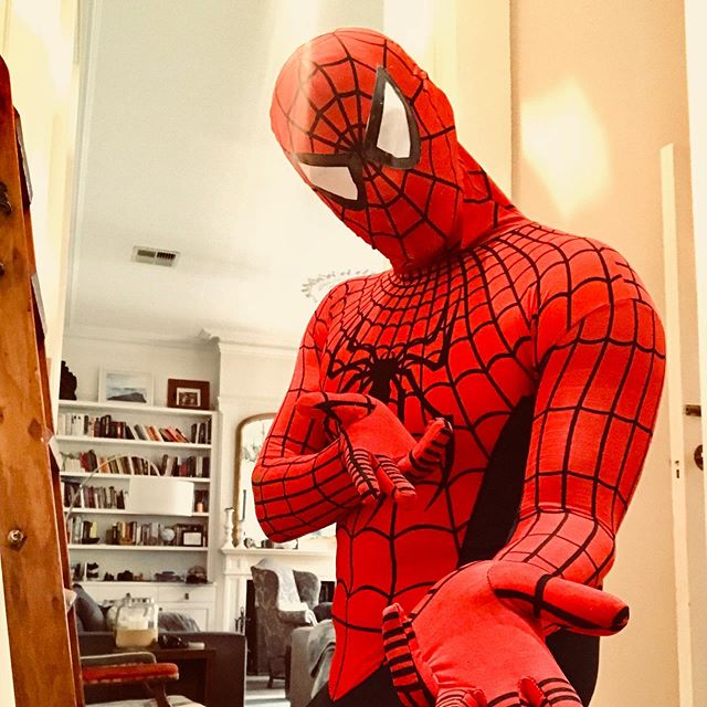 As if running a half marathon wasn't enough...your friendly neighbourhood Spider-Man is running the Run Melbourne Half Marathon 2019 in support of the @fightcancerau Fight Cancer Foundation. . . Link attached to our profile page.👈🏻🏃🏻♂️🕷🕸 . #spiderman #running #halfmarathon #runmelbourne2019 #fightcancerfoundation #carbloading