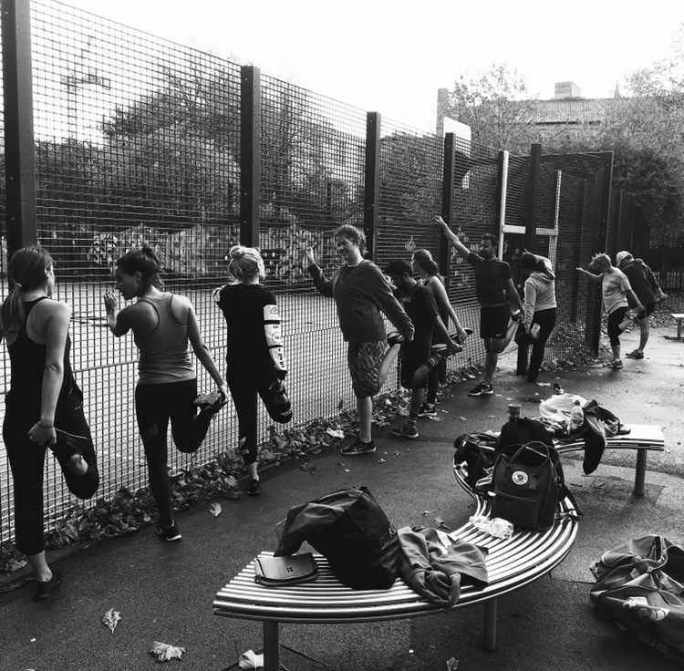 Bootcamp is still going strong, dont be afraid of the cold! Wrap up warm and come and get a workout in to start your weekend off right!