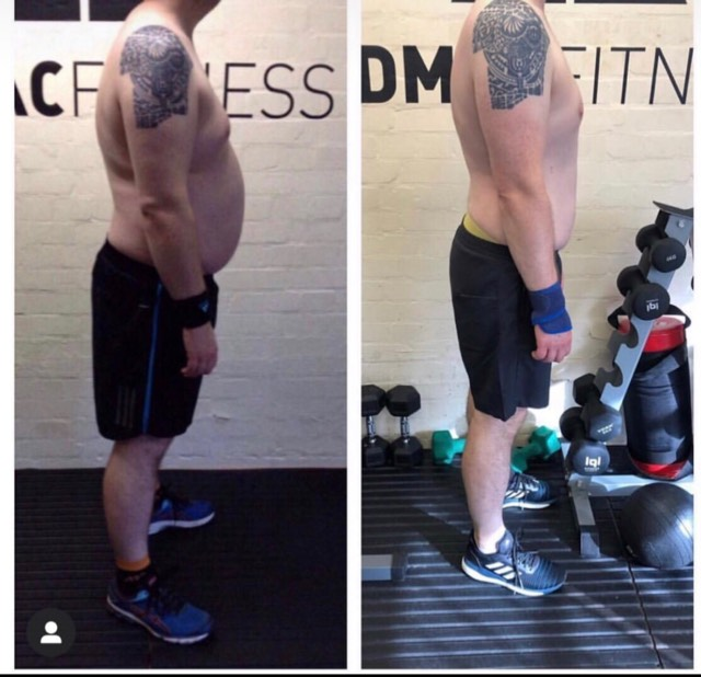 One of the hardest working clients we've had in the studio. 12kg difference in these photos, but the physical transformation is only part of the story. Confidence and mental health improvements are what we are most proud of.