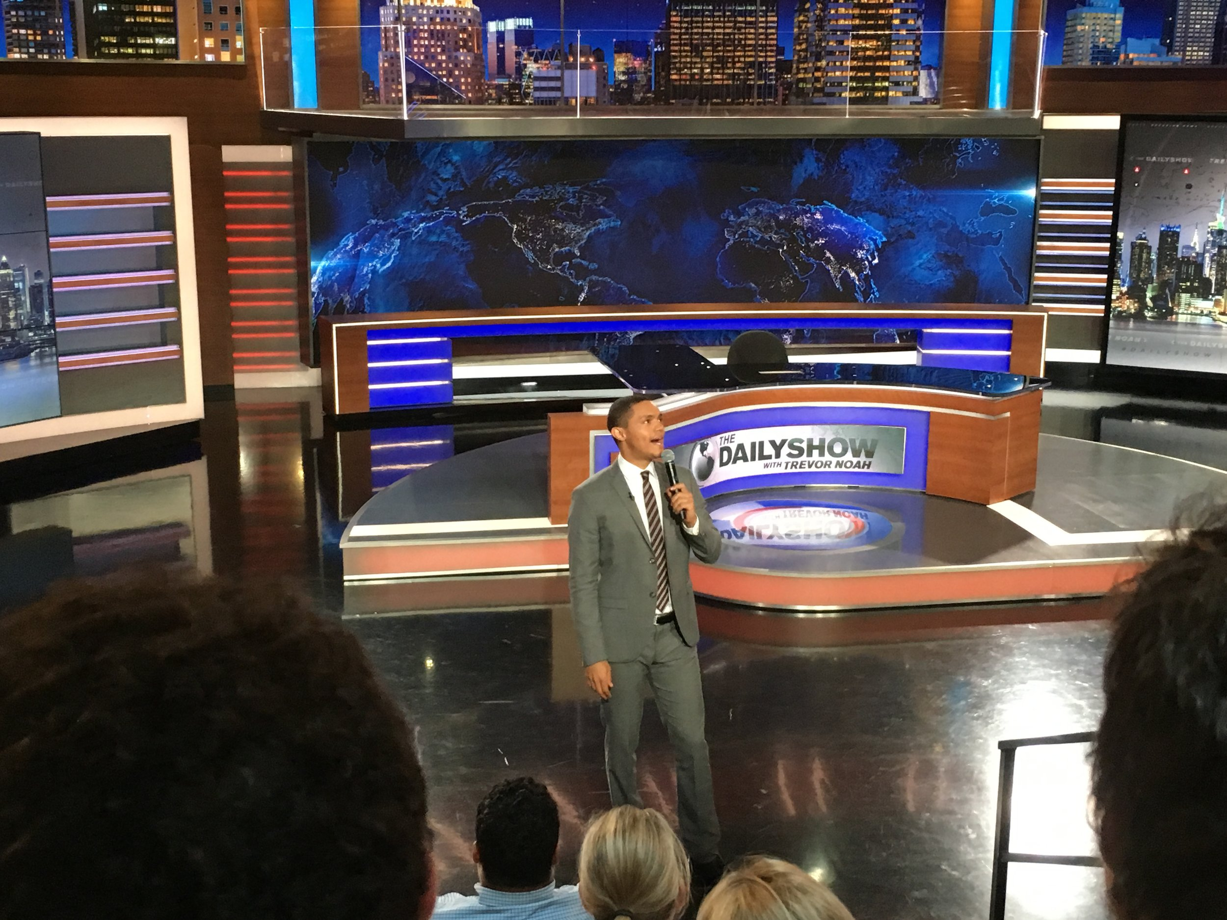 Things unlikely to happen elsewhere: That time I got tickets to day #3 of Trevor Noah's Daily Show