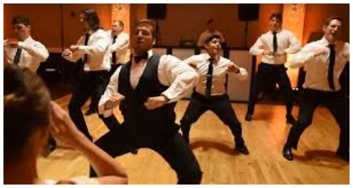 wedding dance groomsmen