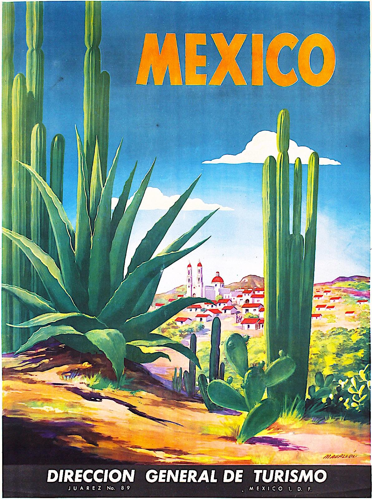 """""""Ciudad Juárez Mexico""""  by Jose Luiz Sanz Magallon 1938"""
