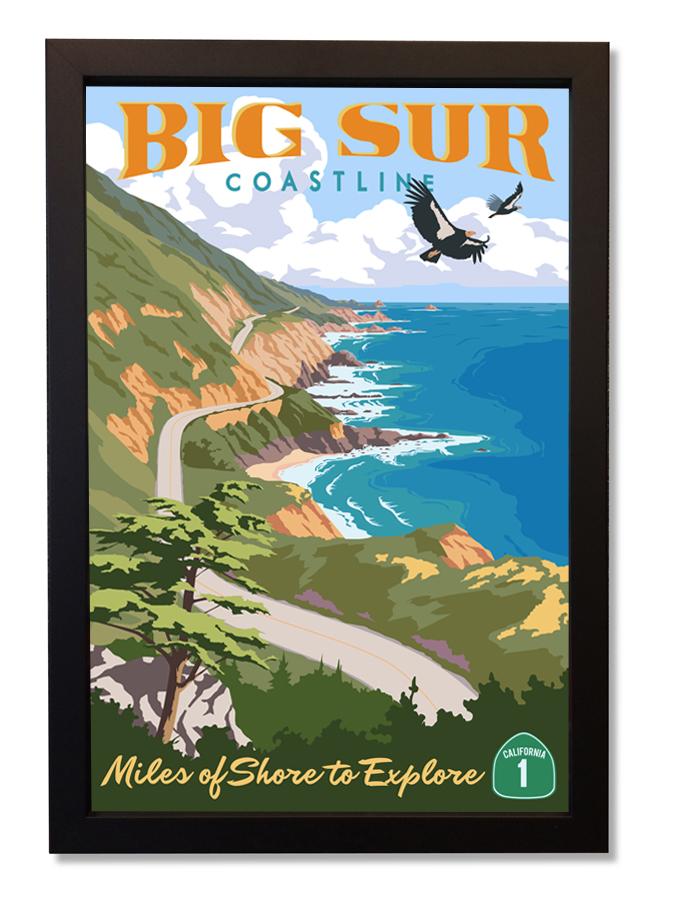 Big Sur Coastline by Steve Thomas