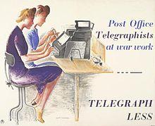 Telegraph Less, 1943.