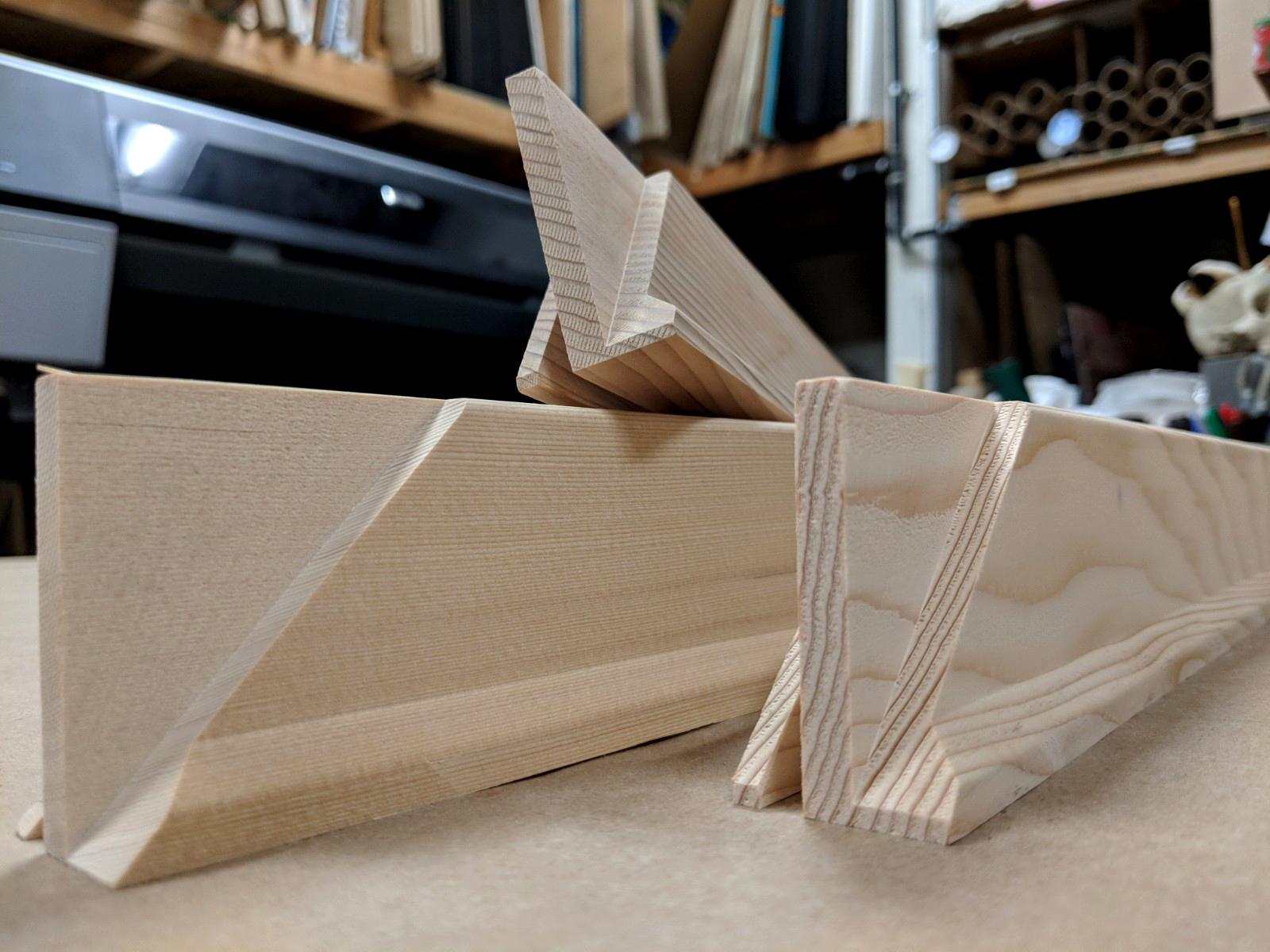 Wooden stretcher bars