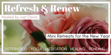 refresh and renew retreats with just davia