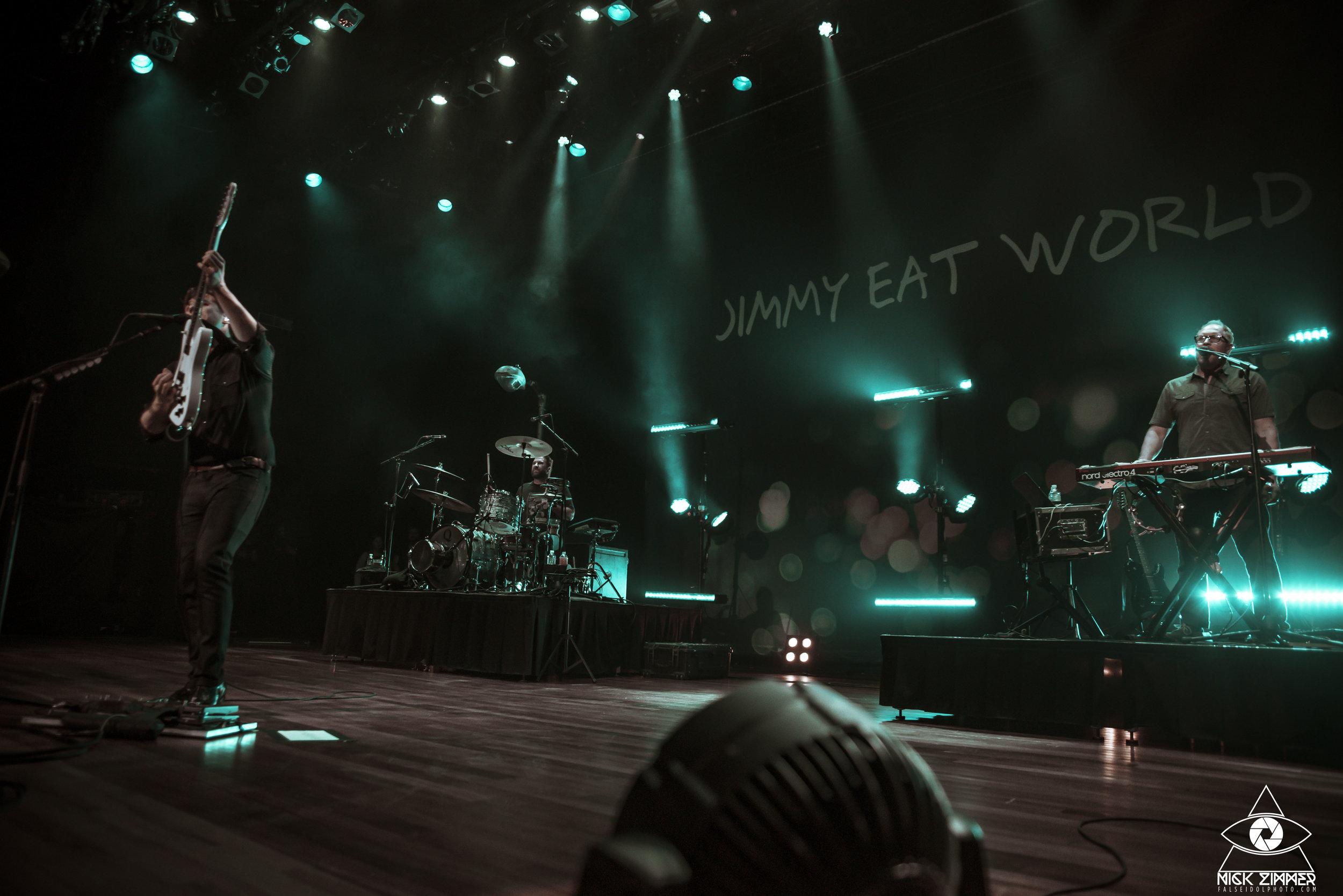Jimmy Eat World - Venue: The Ryman AuditoriumCity: Nashville, TNDate: May 12, 2018