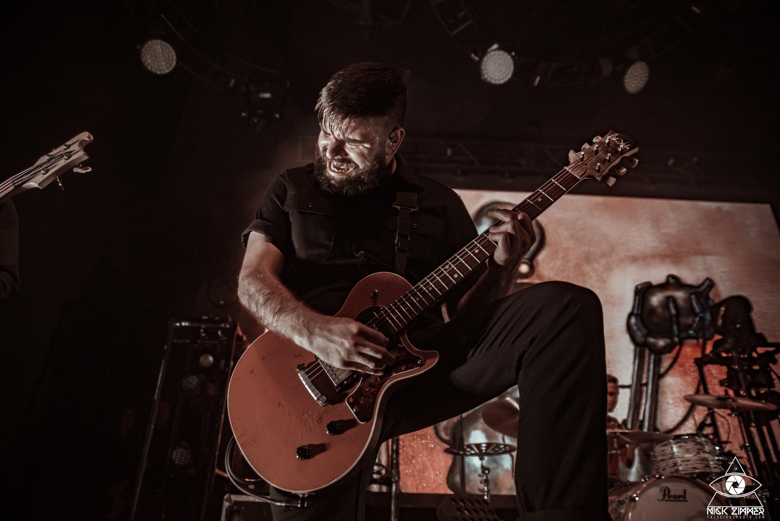 Silverstein - Venue: The CowanCity: Nashville, TNDate: January 16, 2019