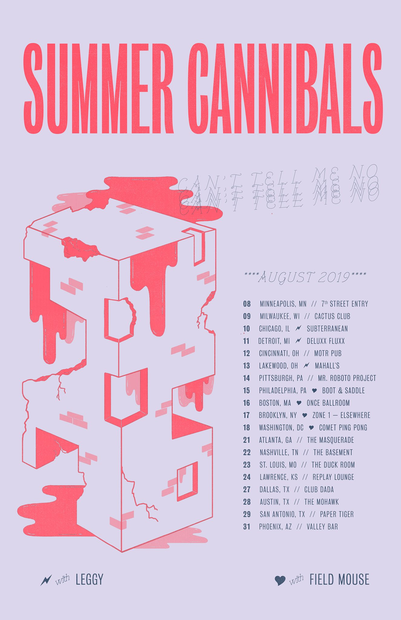 Summer Cannibals - Venue: The BasementCity: Nashville, TNDate: August 22, 2019