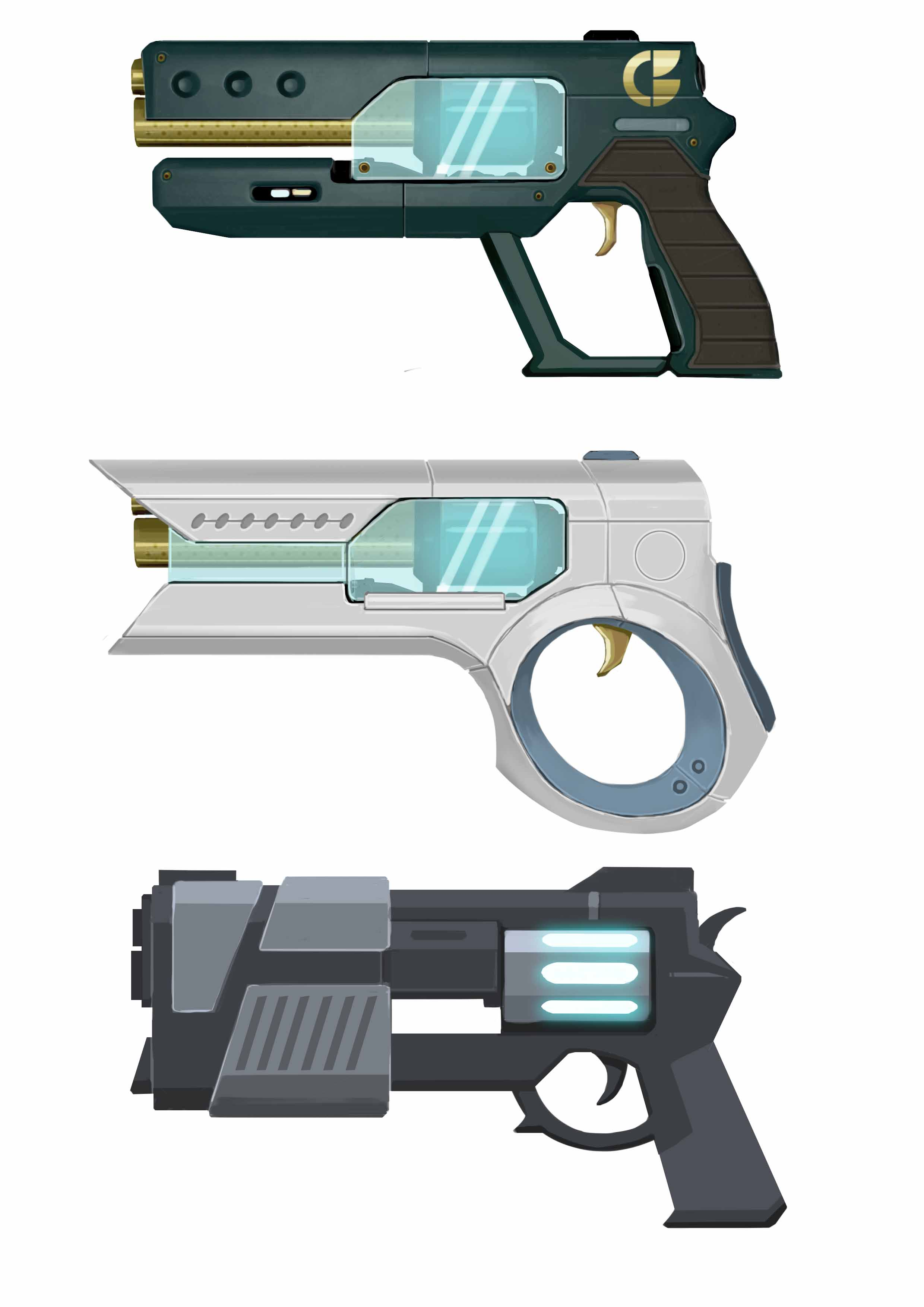 Early Bray weapon ideas