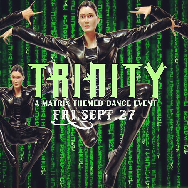 Matrix party this Friday night at Cowfish! Best Trinity wins $100 cash! Sweet prizes for the best Morpheus and best Neo!