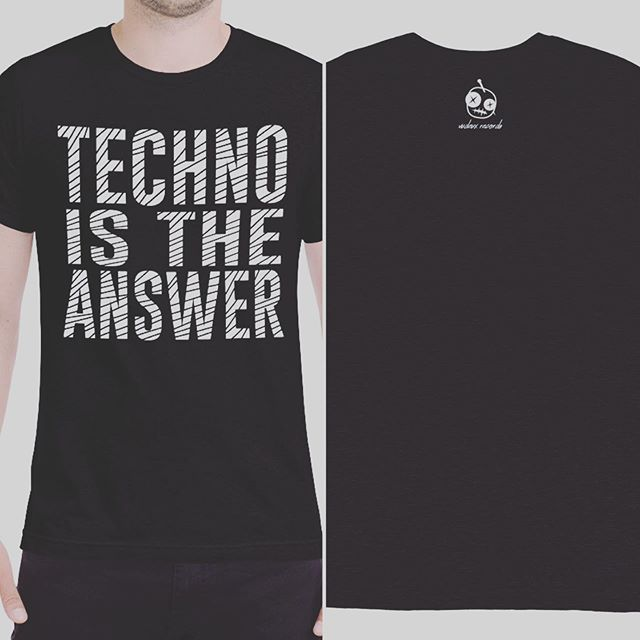 🖤 Techno is the Answer to every question. Tee available in our web shop at Vudeux.com/shop. Link in bio. Enter promo code: IG10 for 10% off! #House #Techno #Vudeux 🖤 . . . #techhouse #housemusic #deeptech #undergroundhouse #deephouse #progressivehouse #minimaltechno #techno #undergroundtechno #dancemusic #electronica #electronicmusic #vudeuxrecords #undergroundmusic #clubbing #bass #basshouse #beats #grooves #music #love #play #dj #merch #independentlabel #hoodie