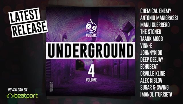 🔊Vudeux Underground, Volume 4 is available today! Another 10 track compilation featuring these amazing artists: Chemical Enemy, Antonio Manigrassi, Manu Guerrero,The Stoned, Taank Moog, Vinn-E, JohnnyKidd, Deep Deejay, Echubeat, Orville Kline, Alex Kislov, Sugar & Swing, Imanol Iturrieta. Link in bio. 🖤 . . . #techhouse #housemusic #deeptech #undergroundhouse #deephouse #progressivehouse #minimaltechno #techno #undergroundtechno #dancemusic #electronica #electronicmusic #vudeuxrecords #undergroundmusic #clubbing #bass #basshouse #beats #grooves #music #love #play #dj #indie #independentlabel #beatport #beatporthype