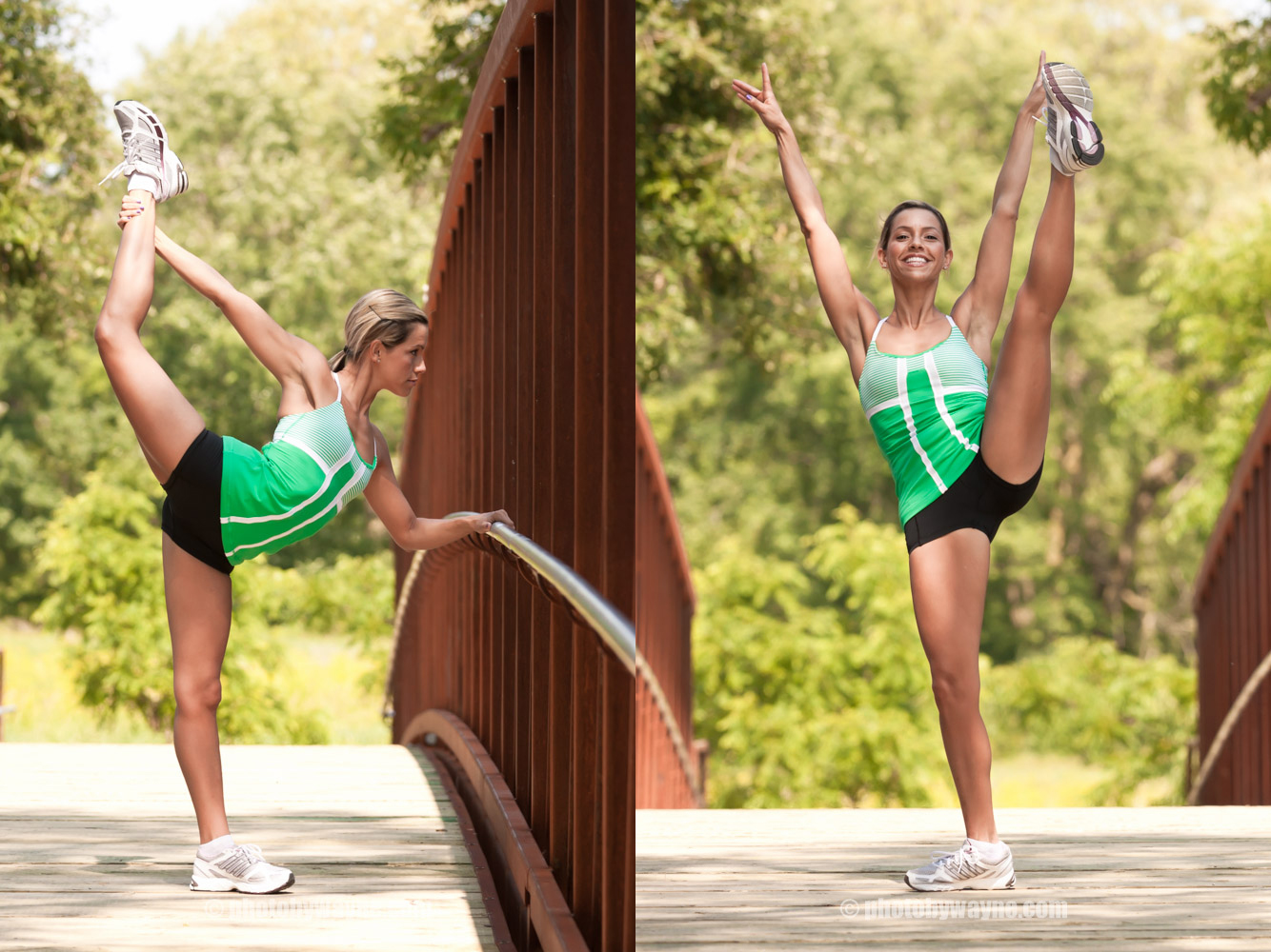 outdoor fitness photography