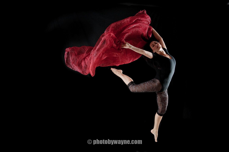woman jump high