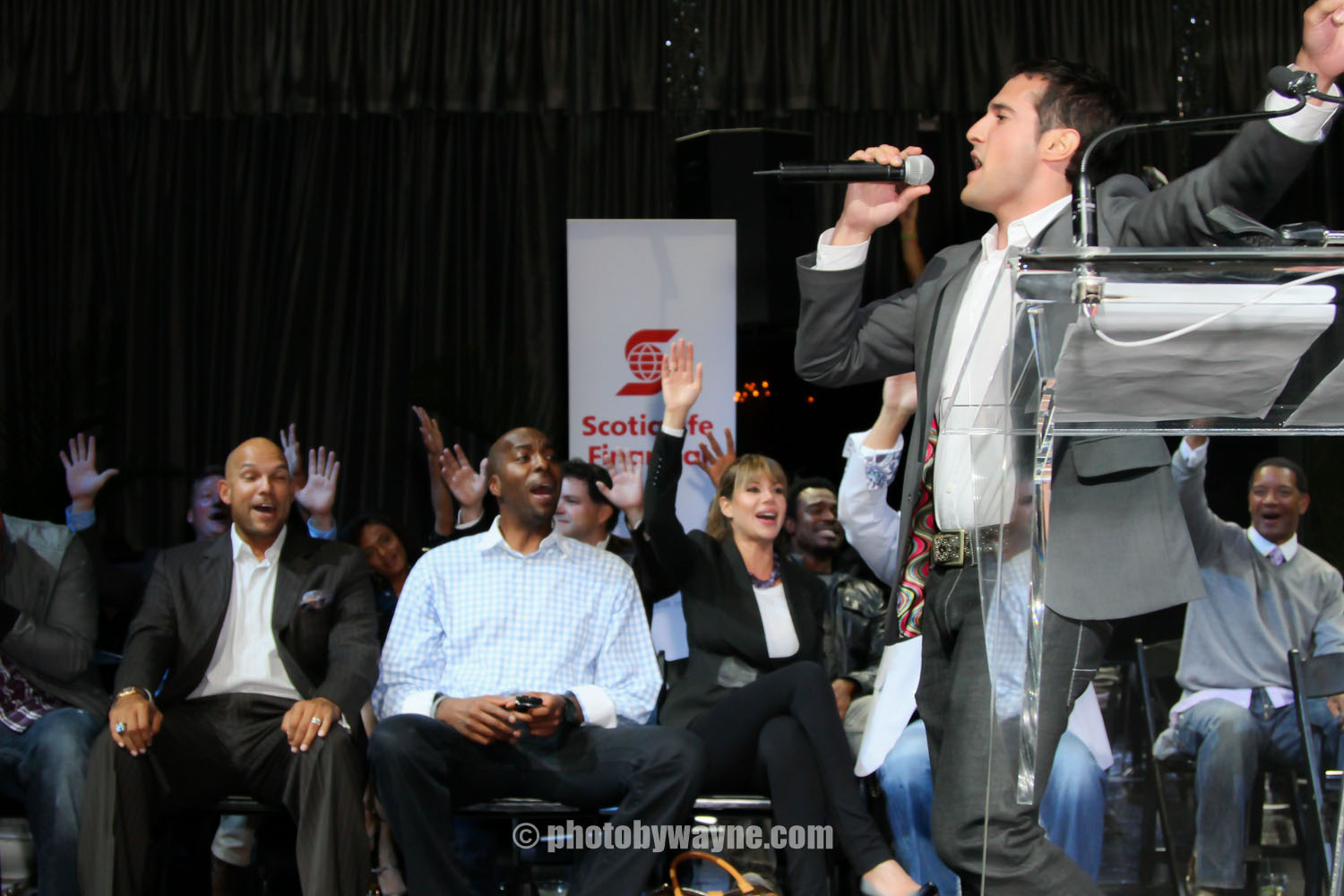 celebrity charity event photography