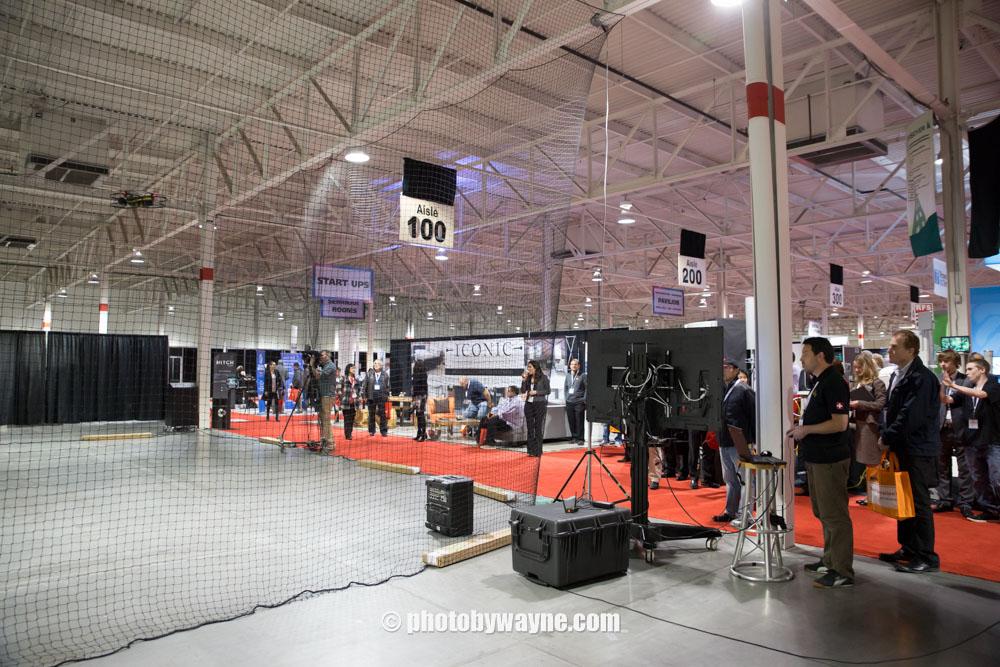 drone-demostration-trade-show