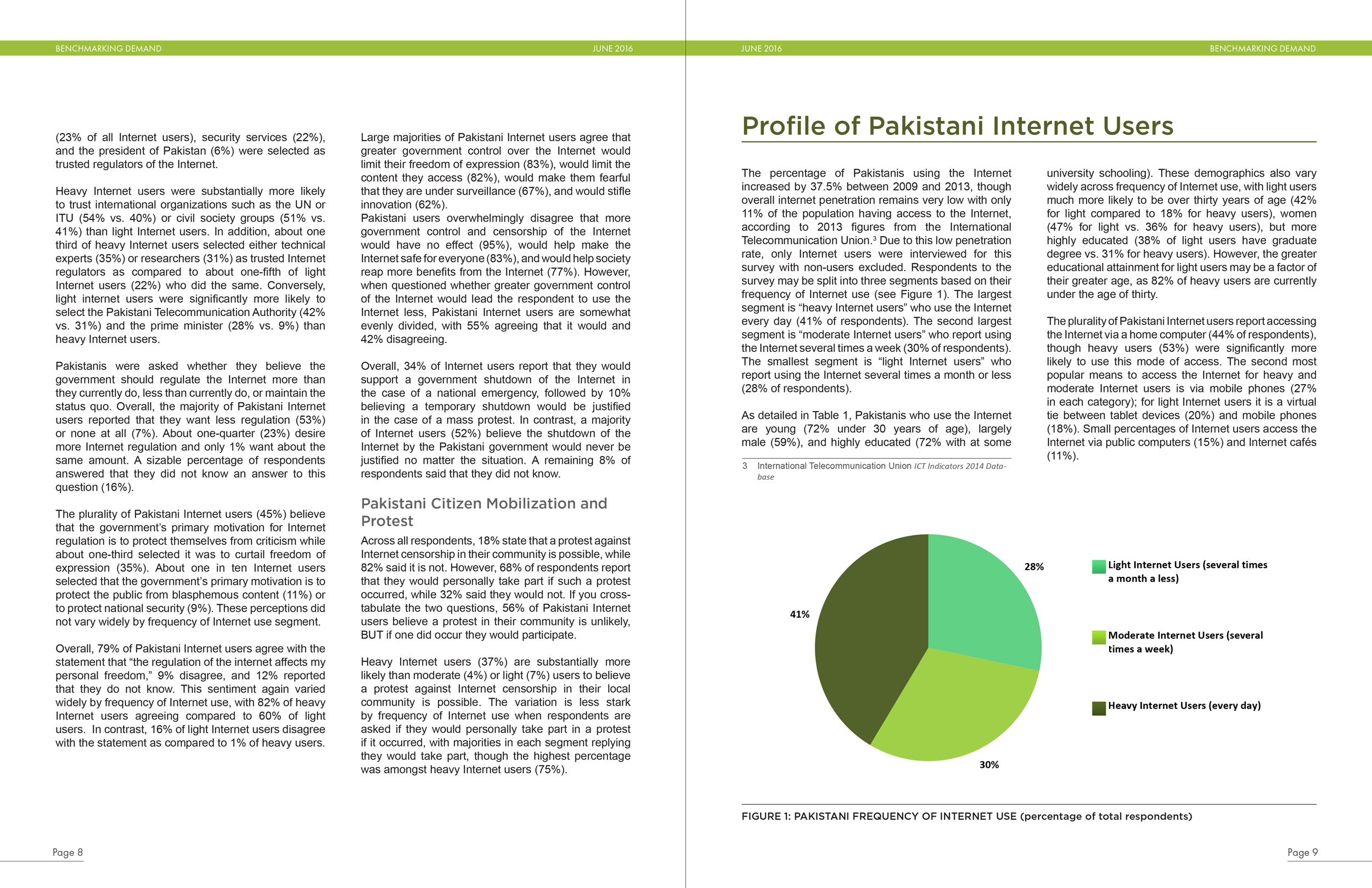 Report interior pages (Center for Global Communication Studies)