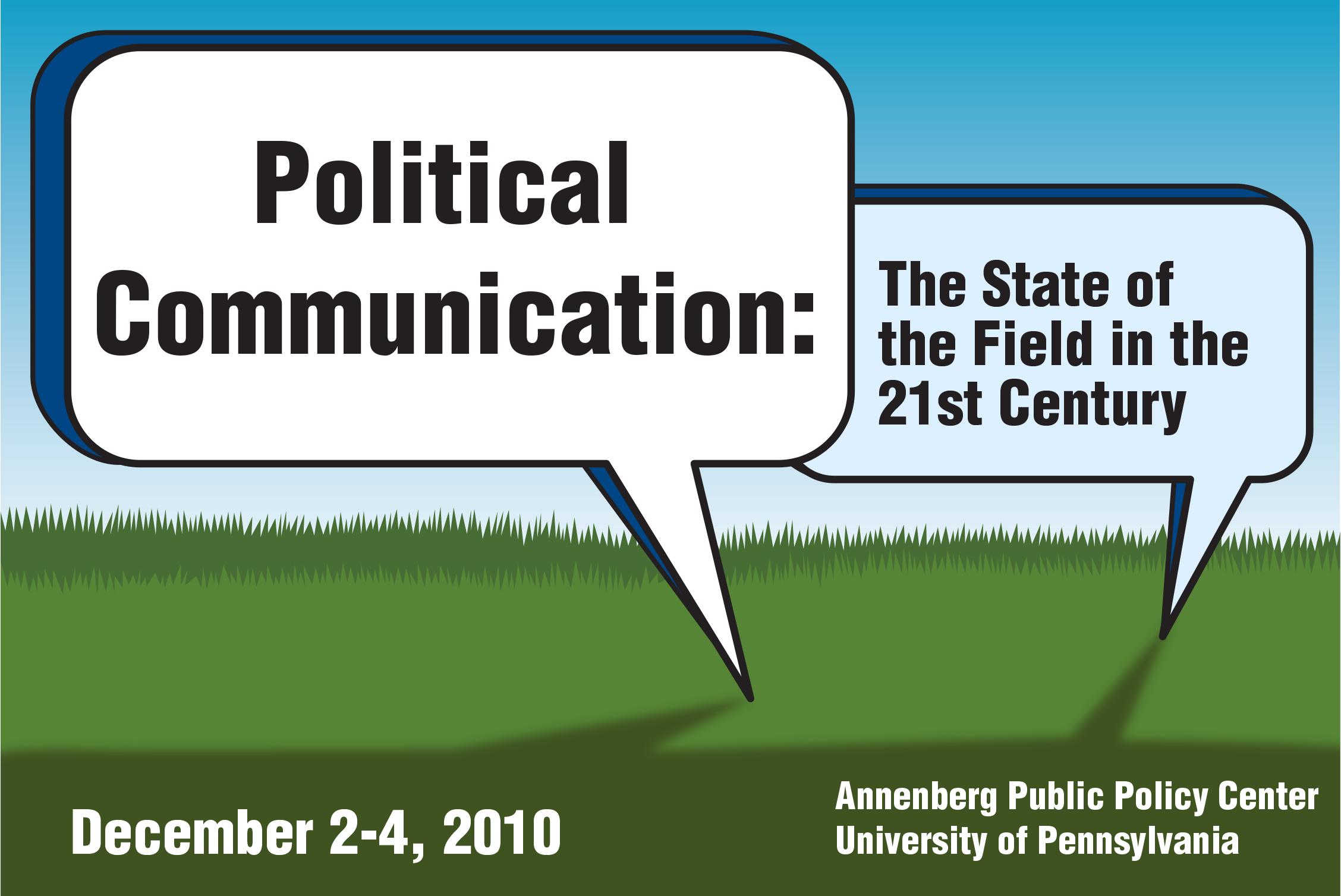 Conference logo, Annenberg Public Policy Center, University of Pennsylvania