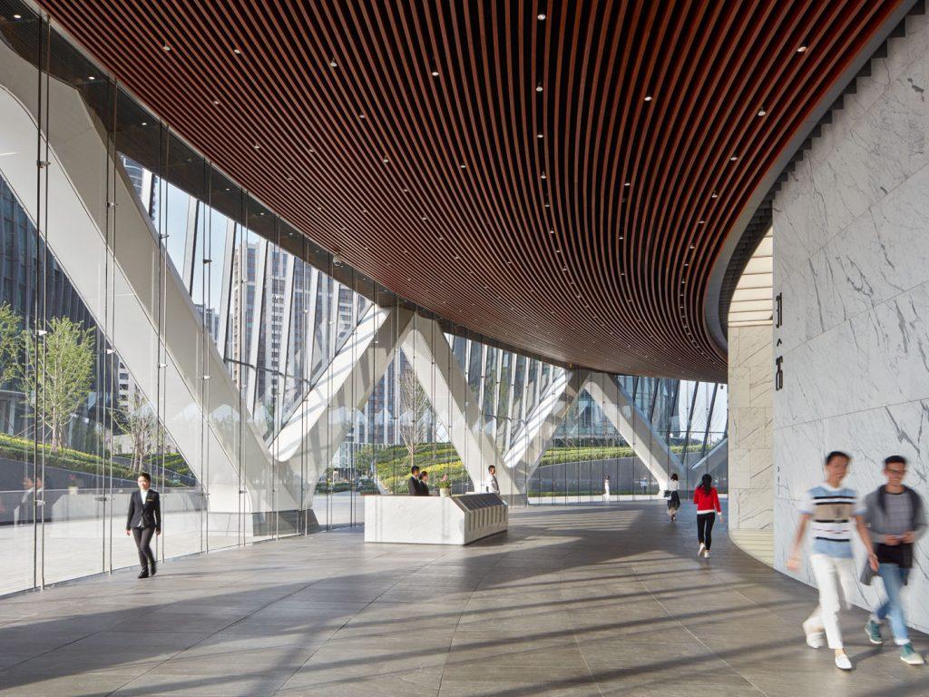 Poly International Plaza, Beijing, China - Lobby