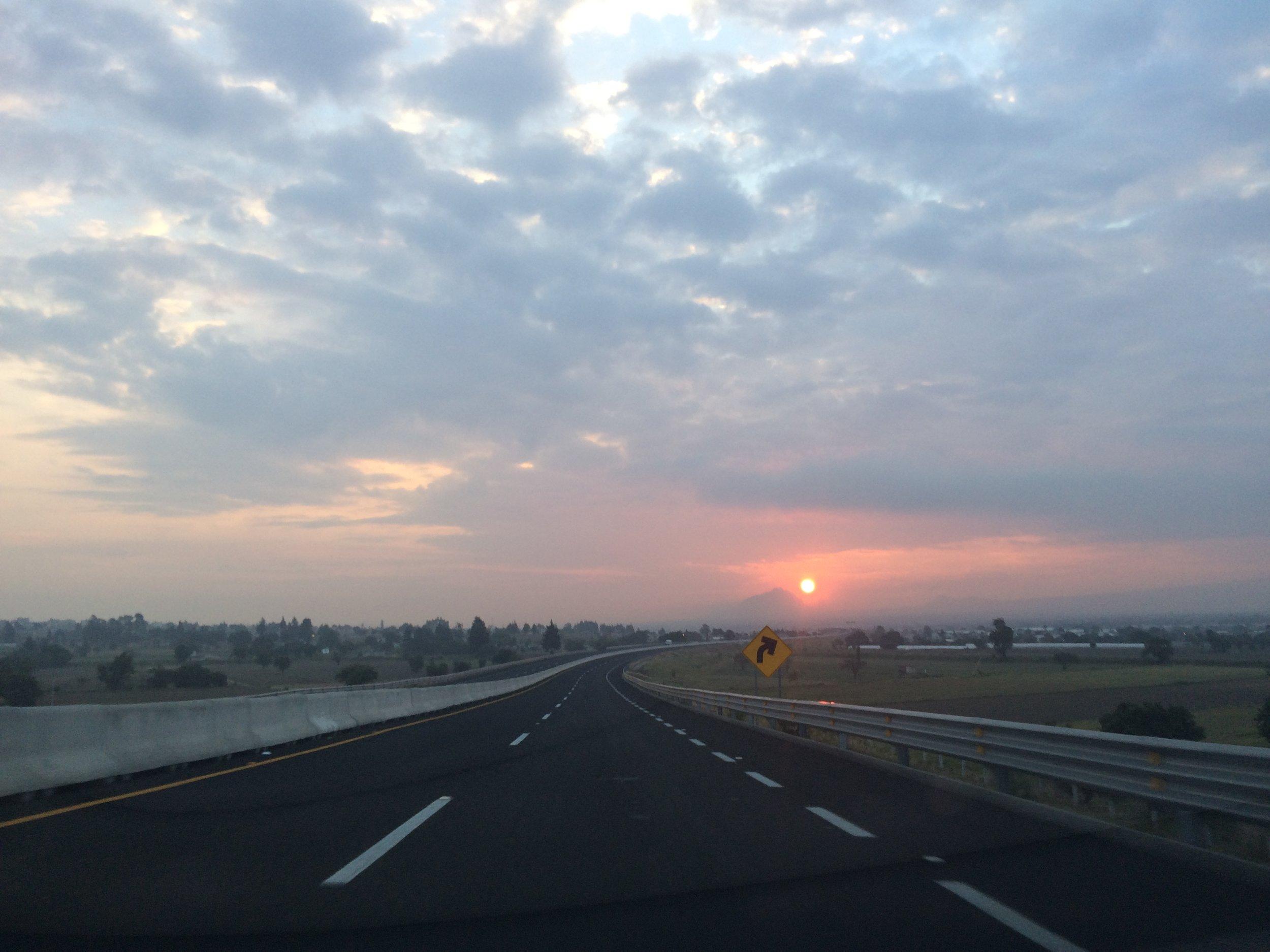Pueblan sunrise