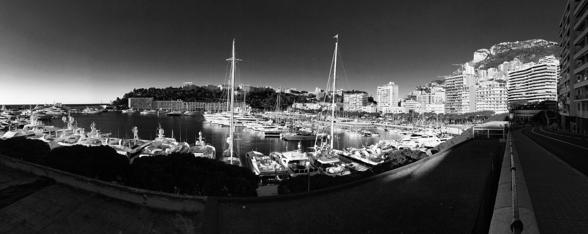 Early morning Monaco