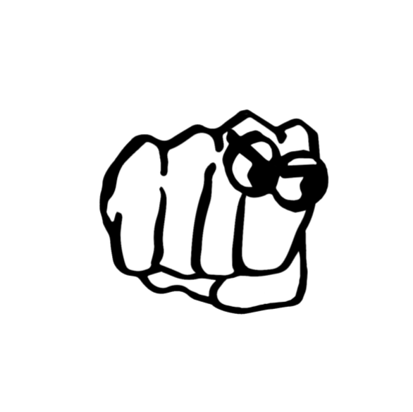 BNB   Bare Knuckle Boss. A cheeky fist is the perfect motif for a bad*ss line reppin' all the Modern Heroines out there.