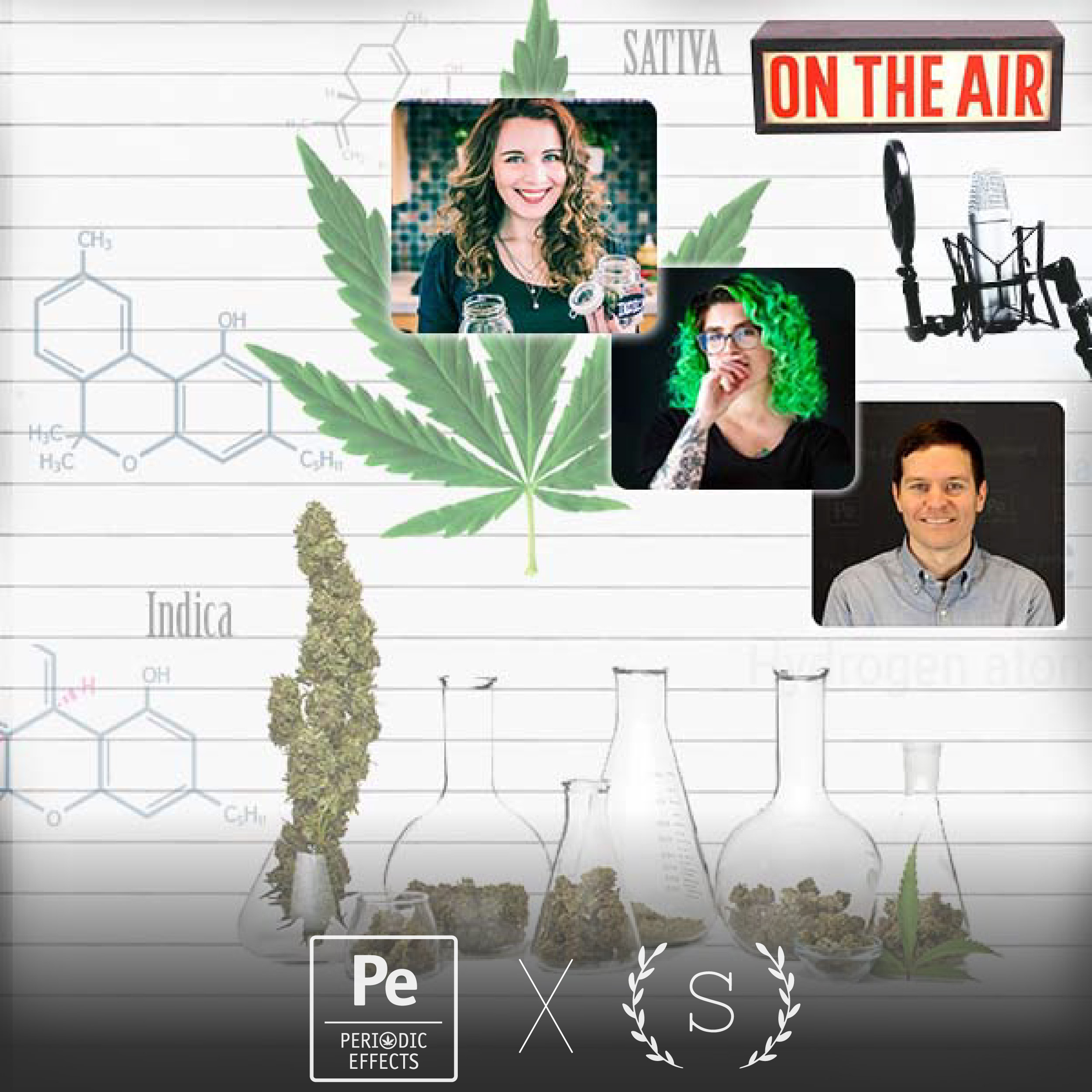 LIVE Cannabis Science Podcast with Sativa Science Club