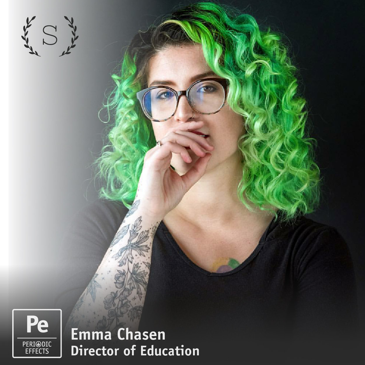 Emma Chasen Director of Education at the Sativa Science Club